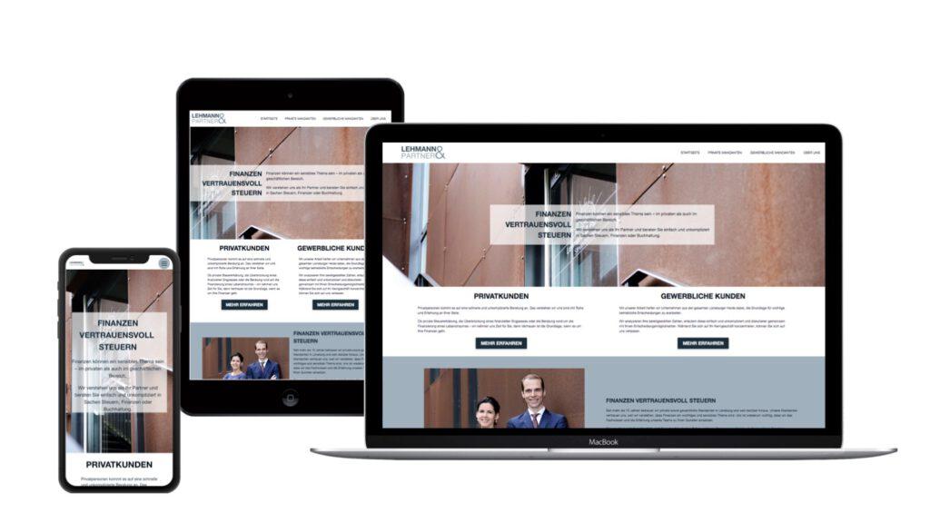 Lehmann und Partner Steuerberater Lüneburg präsentiert den neuen Internetauftritt