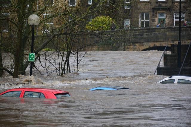 Überflutung - wie jetzt durch Katastrophenerlasse geholfen werden kann.